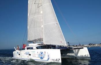 Ecole de croisière catamaran performant du Dahouët (22) à La Rochelle (17)