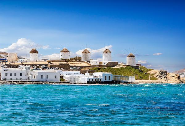 Croisière en catamaran dans les Cyclades en Grèce
