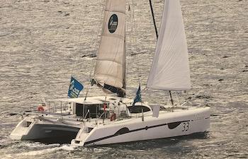 Stage de voile hauturier en catamaran Outremer 49 destination Les Baléares, Espagne