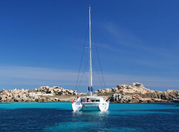 Croisière en catamaran en Corse